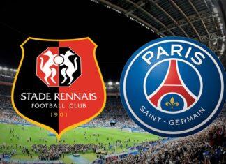 Affiche Match Renne contre PSG