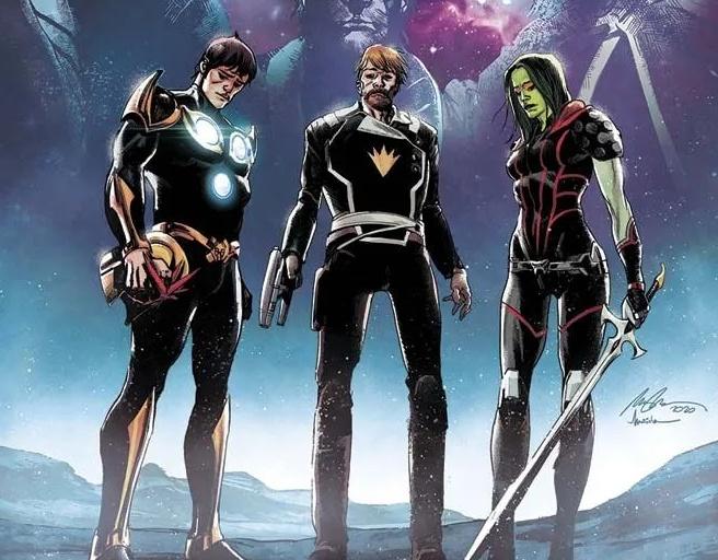 Le nouveau voyage des Gardiens de la Galaxie