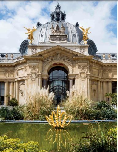 """Vue de l'exposition """"Le Théorème de Narcisse"""" de Jean-Michel Othoniel"""