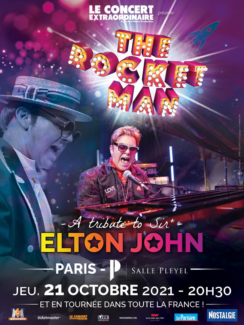 A tribute to Elton John, The Rocket Man