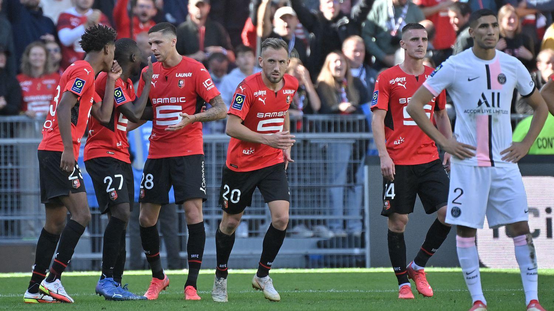 Après le but de Tait pour Rennes contre le PSG
